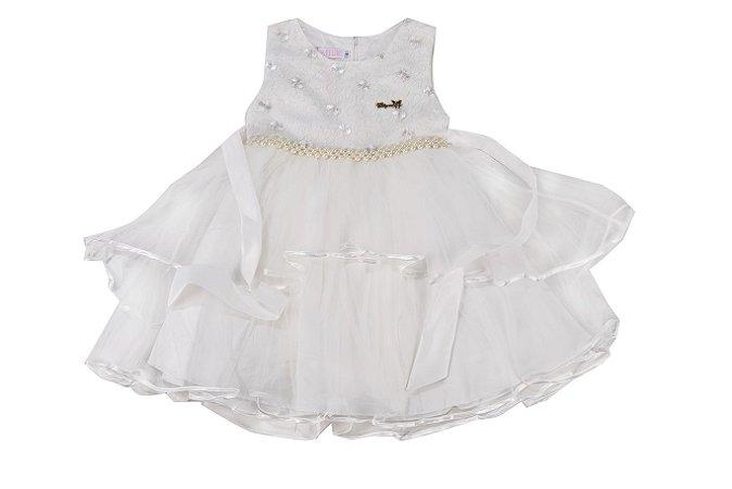 Vestido Infantil Menina Bordado