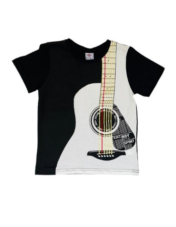 Camiseta Infantil Menino Violão