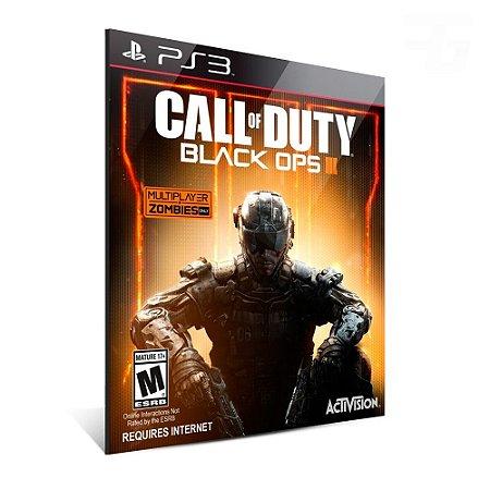 CALL OF DUTY BLACK OPS 3 - PS3 - MÍDIA DIGITAL- PT BR