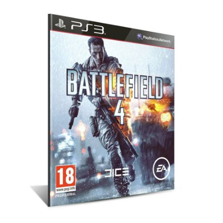 Battlefield 4 - Mídia Digital - Playstation 3