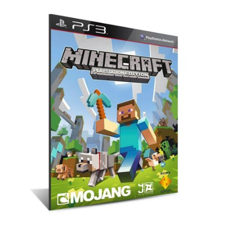 MINECRAFT -Mídia Digital- Playstation 3