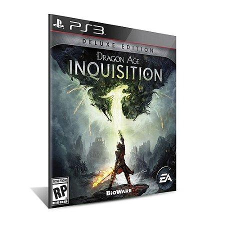 Dragon Age™: Inquisition Deluxe Edition - Mídia Digital - Playstation 3