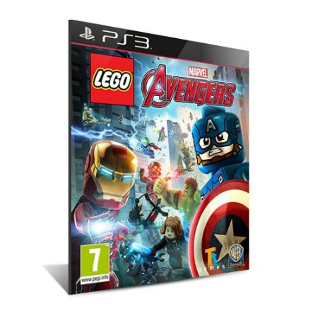LEGO® Marvel's Avengers - Mídia Digital - Playstation 3