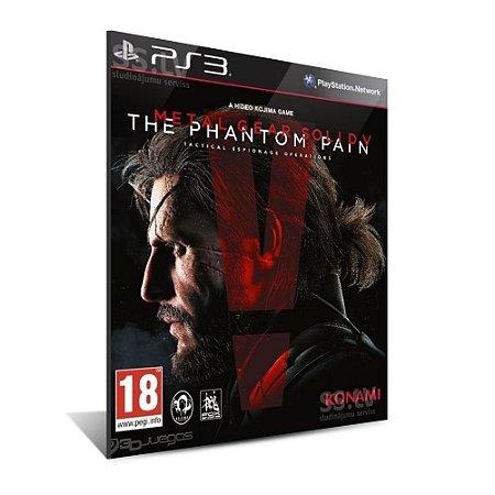 METAL GEAR SOLID V: THE PHANTOM PAIN - Mídia Digital - Playstation 3