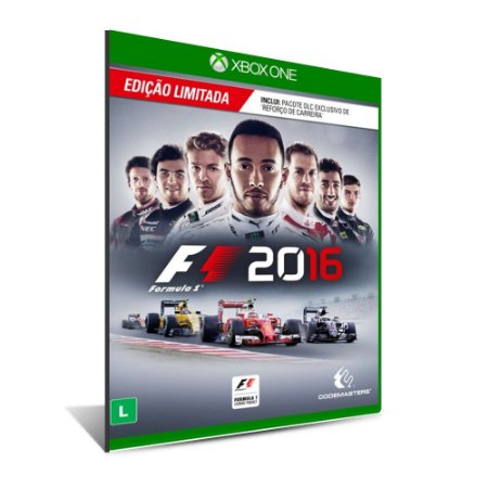 F1 2016 - Mídia Digital - XBOX ONE