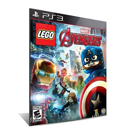 Lego Marvel's Avengers  - Mídia Digital - Playstation 3