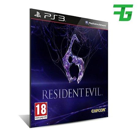 Resident Evil 6 - Português - playstation 3