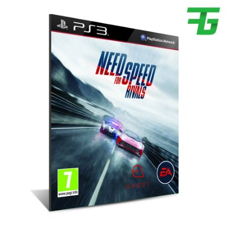 Need For Speed Rivals - Mídia Digital - Playstation 3