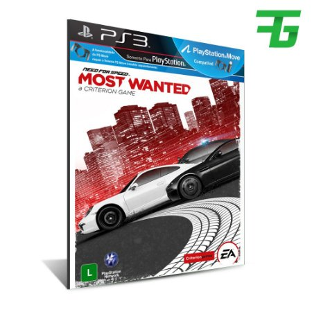 Ps3 Need For Speed Most Wanted - Mídia Digital - Playstation 3