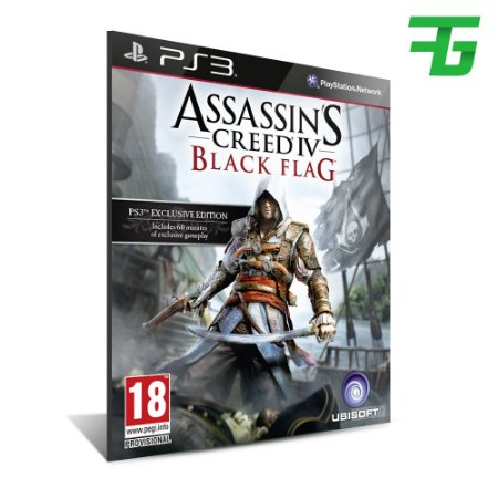 Assassins Creed Iv 4 Black Flag Ps3 - Mídia Digital - Playstation 3