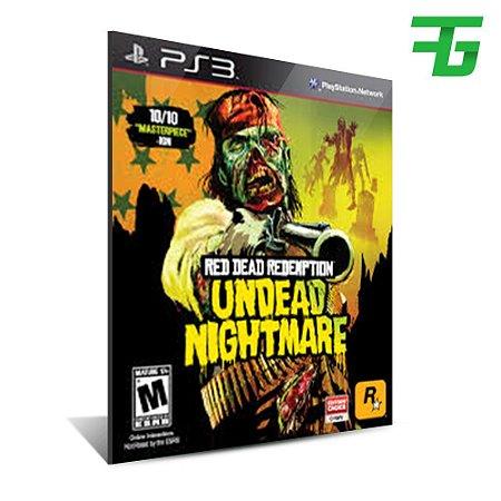 Red Dead Redemption + Undead Nightmare - Mídia Digital- Playstation 3