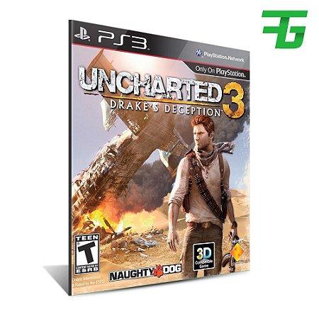 Uncharted 3 Drake's Deception - Mídia Digital - Playstation
