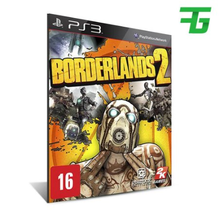 Borderlands 2 -Mídia Digital - Playstation 3