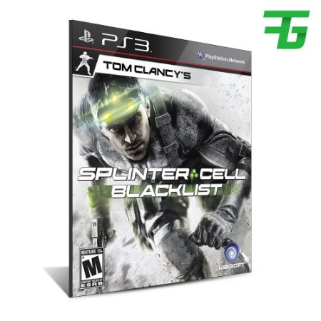 Tom Clancys Splinter Cell Blacklist- Mídia Digital - Playstation 3