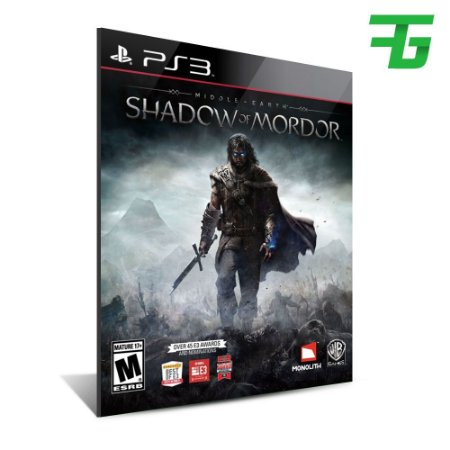 Middle Earth Shadow Of Mordor - Mídia Digital - Playstation 3