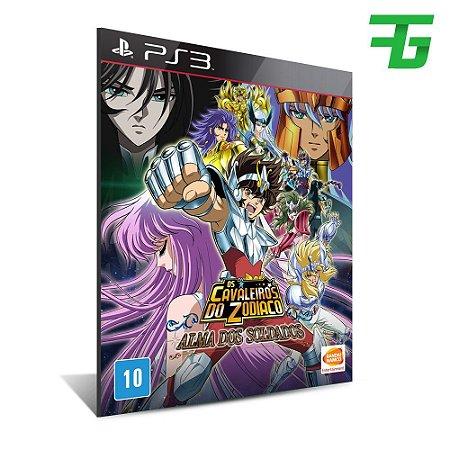 Cavaleiros Do Zodíaco Alma Dos Soldados - Mídia Digital - Playstation 3