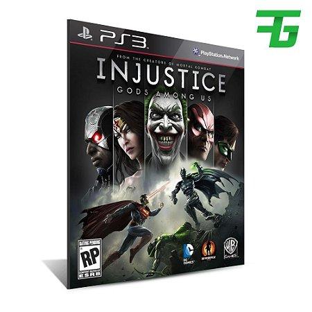 Injustice Gods Among Us Ultimate Edition - Mídia Digital -Playstation 3