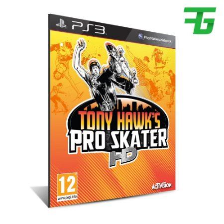 Tony Hawks Pro Skater Hd -Mídia Digital - Playstation 3