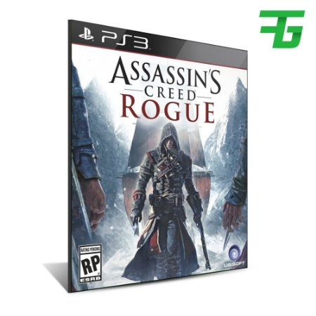Assassins Creed Rogue - Mídia Digital - Playstation 3