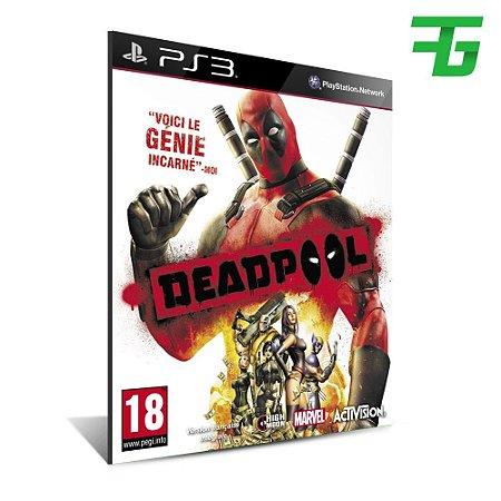 Deadpool - Mídia Digitial - Playstation 3