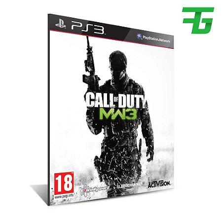 Call Of Duty Modern Warfare 3 - Mídia Digital - Playstation 3