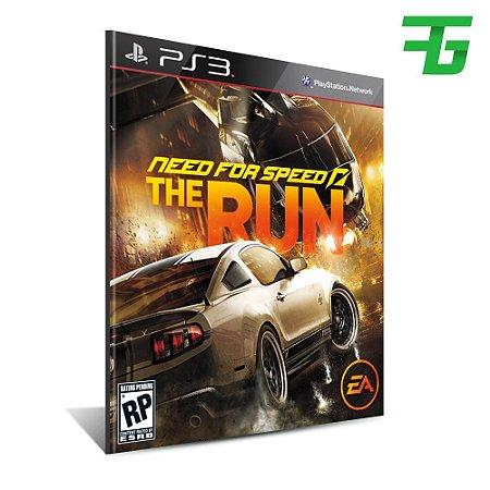 Need For Speed The Run - Mídia Digital - Playstation 3