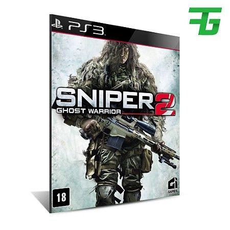 Sniper Ghost Warrior 2 -Mídia Digital - Playstation 3