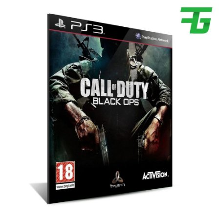 Call Of Duty Black Ops + Dlc - Mídia Digital - Playstation 3