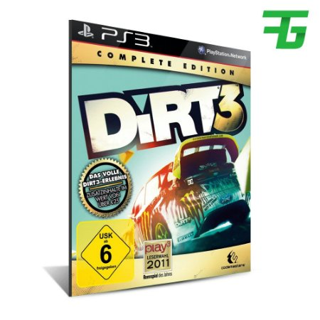 Online Pass - Dirt 3 - Mídia Digital - Playstation 3