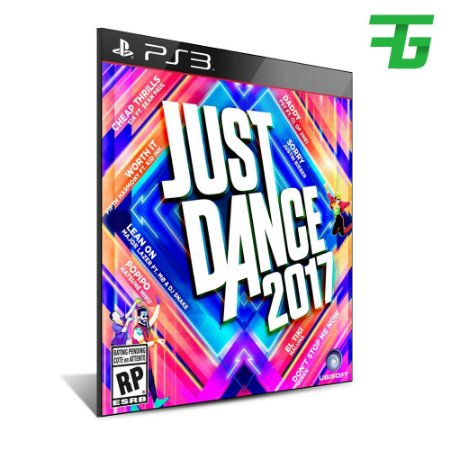 Just Dance 2017 -Mídia Digital - Playstation 3