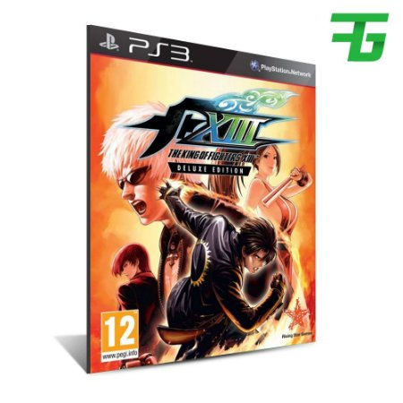 The King Of Fighters Xiii 13 - Mídia Digital - Playstation 3