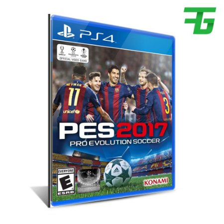 PES 2017 PS4 - MÍDIA DIGITAL