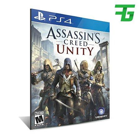 ASSASSINS CREED UNITY PS4 - MÍDIA DIGITAL