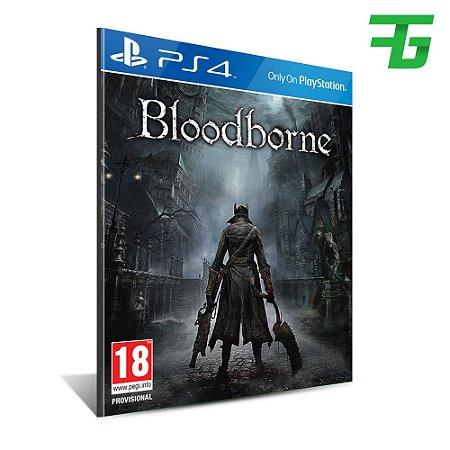 BLOODBORNE PS4 - MÍDIA DIGITAL