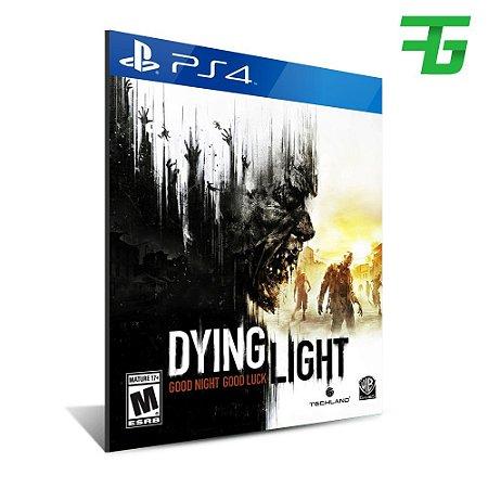 DYING LIGHT PS4 - MÍDIA DIGITAL