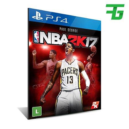 NBA 2K17 PS4 - MÍDIA DIGITAL