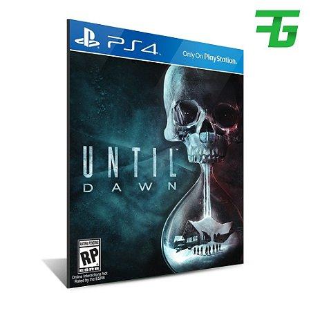 UNTIL DAWN PS4 - MÍDIA DIGITAL