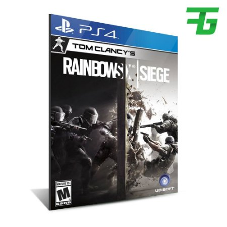 TOM CLANCY'S RAINBOW SIX SIEGE PS4 - MÍDIA DIGITAL