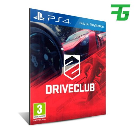 DRIVECLUB PS4 - MÍDIA DIGITAL