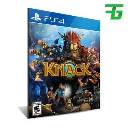 KNACK PS4 - MÍDIA DIGITAL