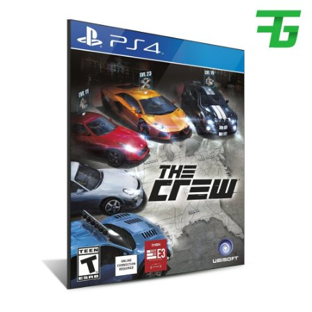 THE CREW PS4 - MÍDIA DIGITAL