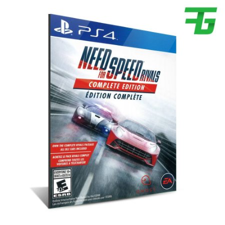 NEED FOR SPEED RIVALS COMPLETE EDITION PS4 - MÍDIA DIGITAL