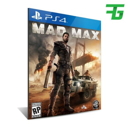 MAD MAX PS4 - MÍDIA DIGITAL