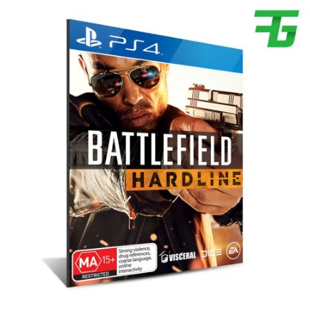 BATTLEFIELD HARDLINE PS4 - MÍDIA DIGITAL