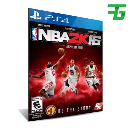 NBA 2K16 PS4 - MÍDIA DIGITAL