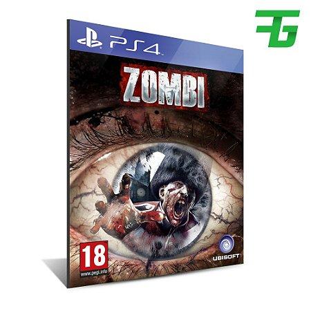 ZOMBI PS4 - MÍDIA DIGITAL