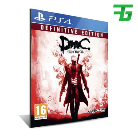 DMC DEVIL MAY CRY DEFINITIVE EDITION PS4 - MÍDIA DIGITAL