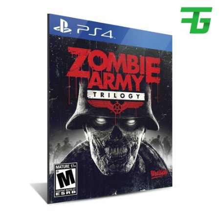 ZOMBIE ARMY TRILOGY PS4 - MÍDIA DIGITAL