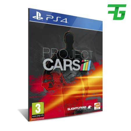 PROJECT CARS PS4 - MÍDIA DIGITAL