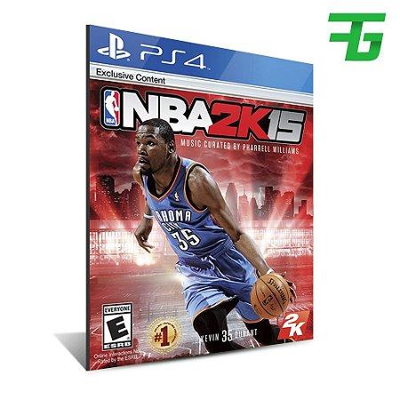 NBA 2K15 PS4 - MÍDIA DIGITAL